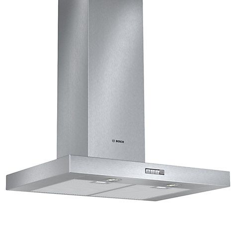 Buy Bosch DWB074W50B Chimney Cooker Hood, Brushed Steel Online at johnlewis.com