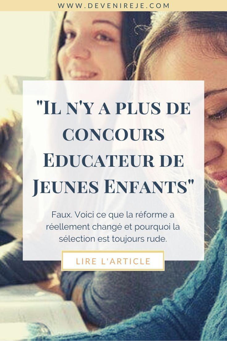Reforme Du Concours Eje Educatrice De Jeunes Enfants Concours Eje Formation Continue