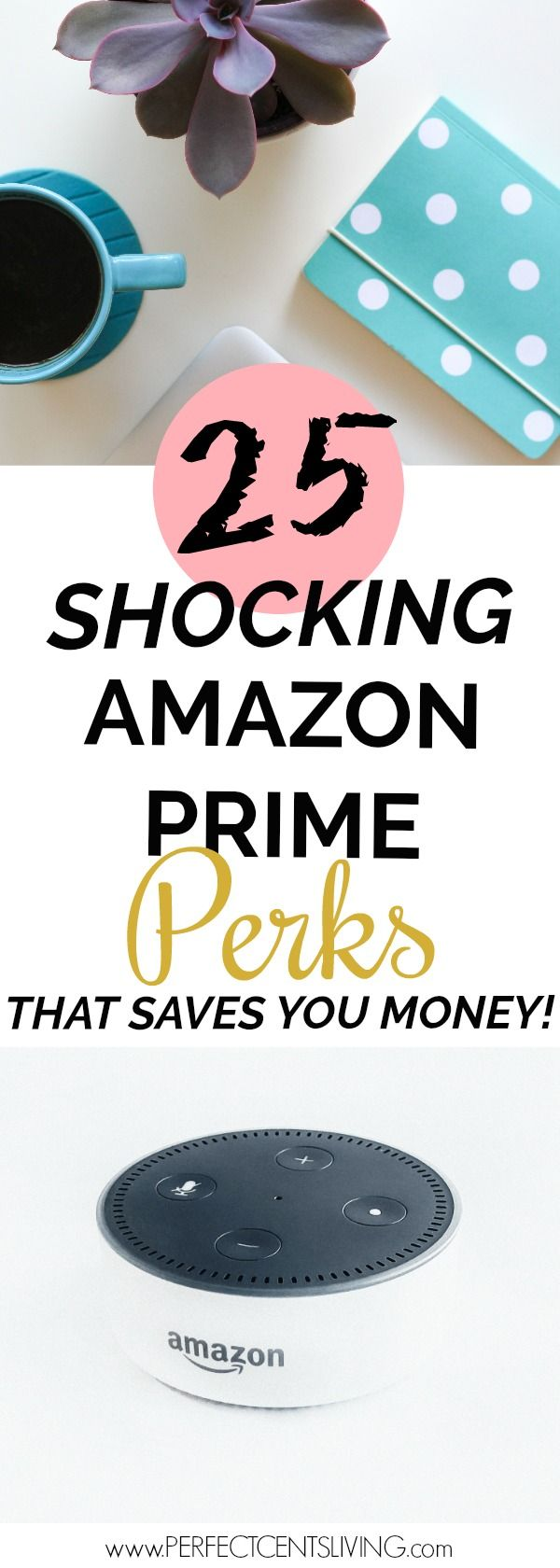 Save money with these Amazon Prime Perks! I did't know that Amazon offered half of these services!