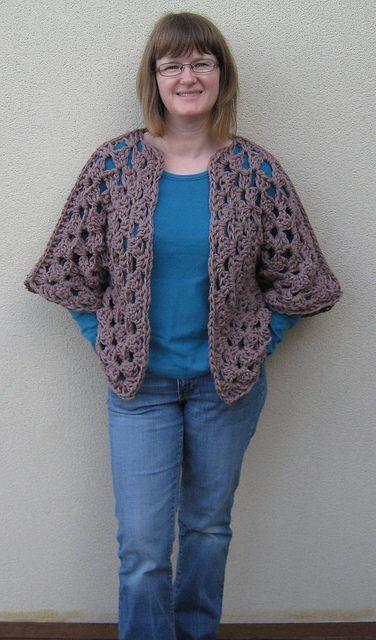 Ravelry: Granny Shrug pattern by Kirsty of kootoyoo