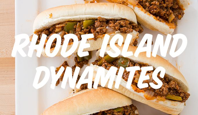 This Woonsocket staple is the spicy, briny answer to a Sloppy Joe.