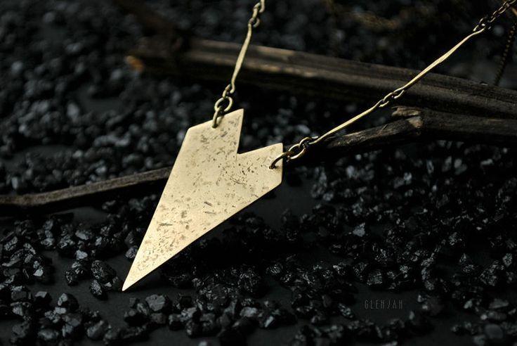 Купить Подвеска Herz aus Gold - украшения, украшения на шею, латунная подвеска, латунный, подвеска