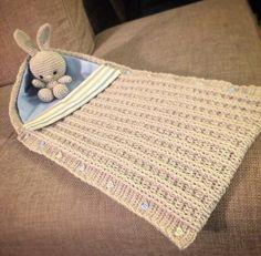 Sacco nanna uncinetto / Crochet baby sleeping bag cover