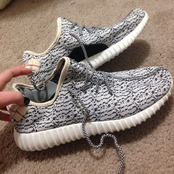 BRAND NEW Yeezy 350 Boost knockoff sneakers These just came in the mail and I realized I bought the wrong size once again :/ have never been worn outside all I did was try them on Yeezy Shoes Sneakers