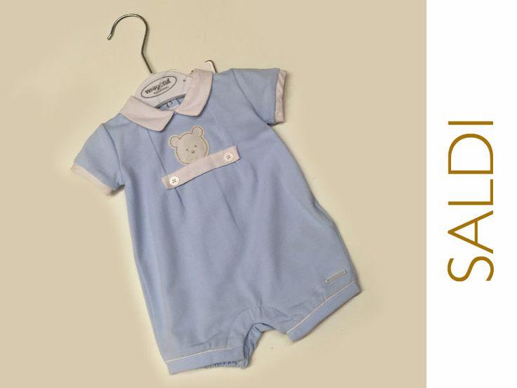 #SALDI Ti piace questa tutina 0 mesi per neonato? Ora costa solo € 10.50! Da Nidodigrazia, il nostro punto vendita a Busto Arsizio (Va) trovi gli abitini bimbi in saldo. Vieni a trovarci!