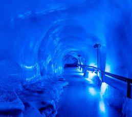 Gletscherpark, Erlebnis, Rotair, Schnee im Sommer, TITLIS Engelberg