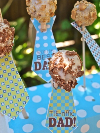 S'mores cake pops. So cute for Fathers Day
