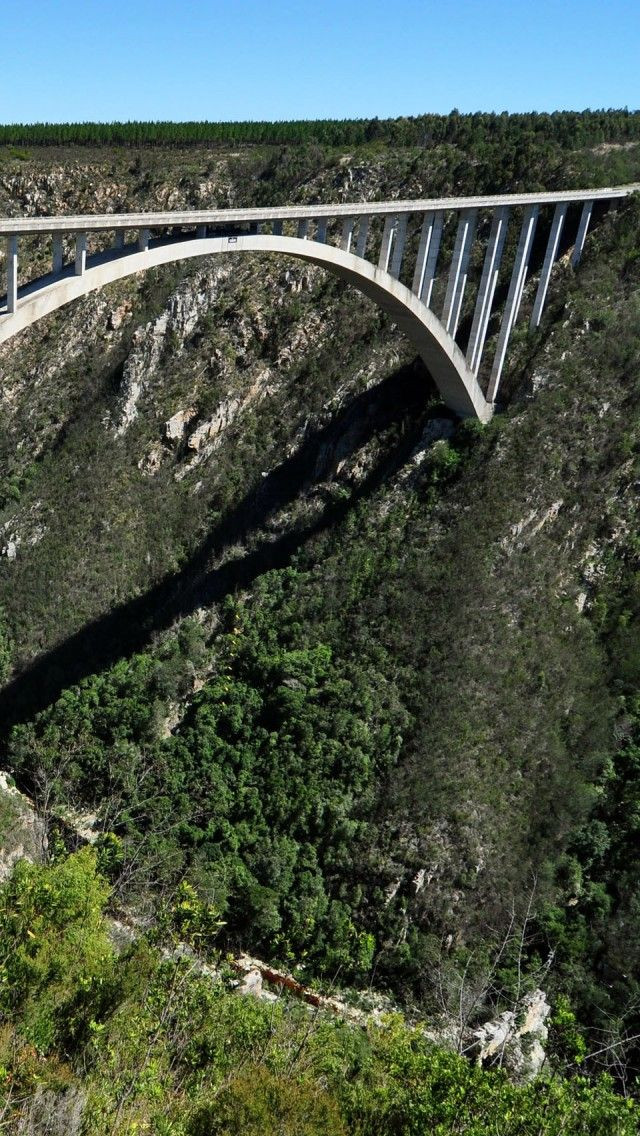 Storms river bridge, Garden Route, South Africa