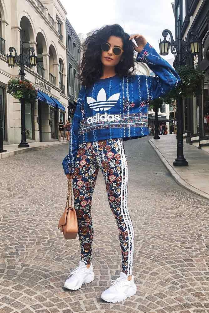 Feel both stunning and comfy with our ideas of Adidas pants outfit that may be worn fashionably in your office. Check out our photo gallery.