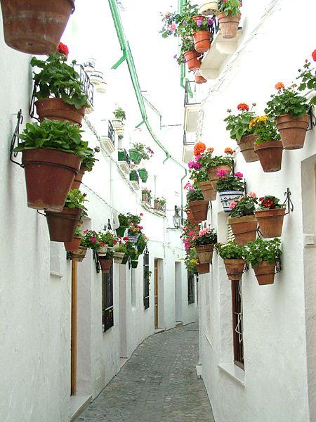 Calles estrechas de la villa