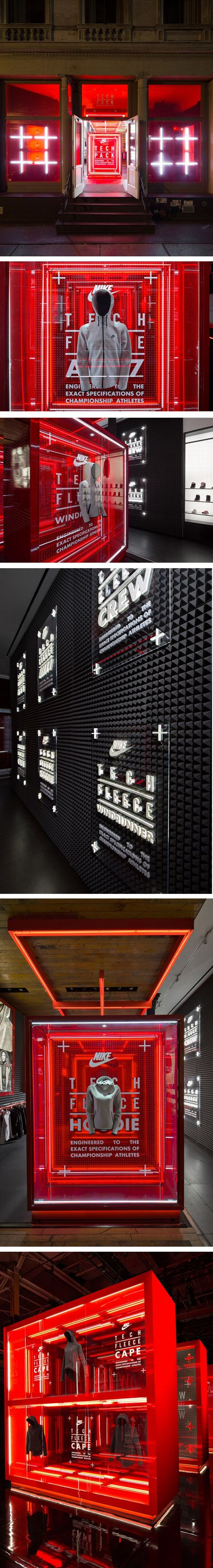 Nike flagship store by Nike & WeShouldDoItAll & Corey Yurkovich, New York City.