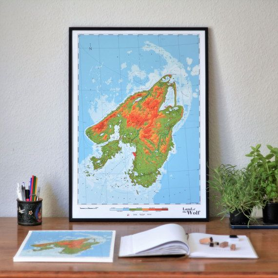 Canis  Land of the Wolf by DauDaw on Etsy