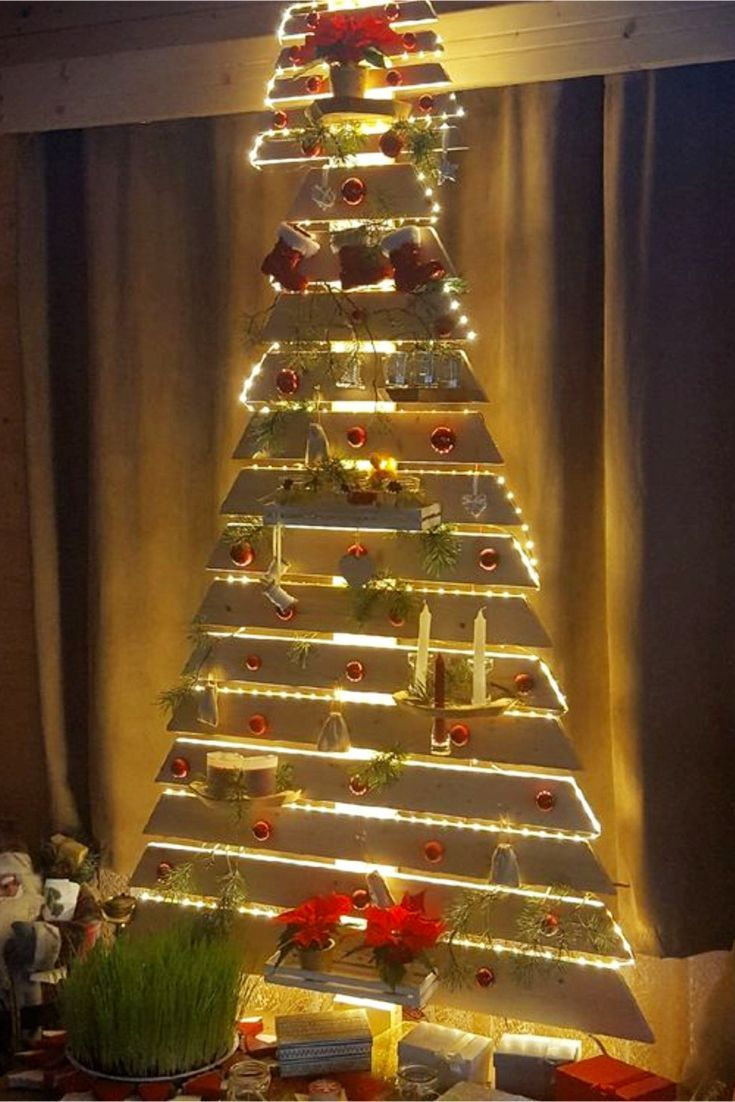 Diy Pallet Christmas Tree Ideas We Tried It Clever Diy Ideas Pallet Christmas Tree Pallet Christmas Pallet Diy