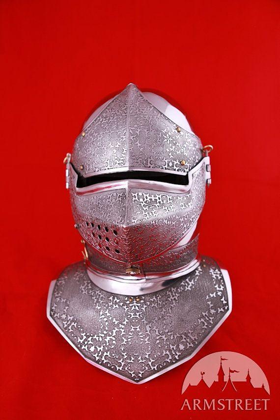 DISCOUNTED PRICE Medieval Mens SCA Helm Combat Helmet by armstreet