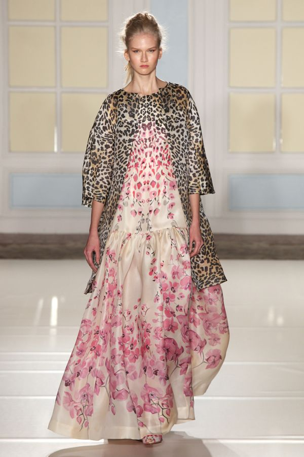 Alice Temperley's Sicilian Spring/Summer 2014 - London Fashion Week