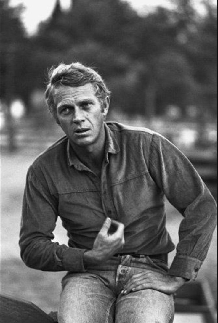 de 25 bedste id er inden for steve mcqueen p pinterest. Black Bedroom Furniture Sets. Home Design Ideas