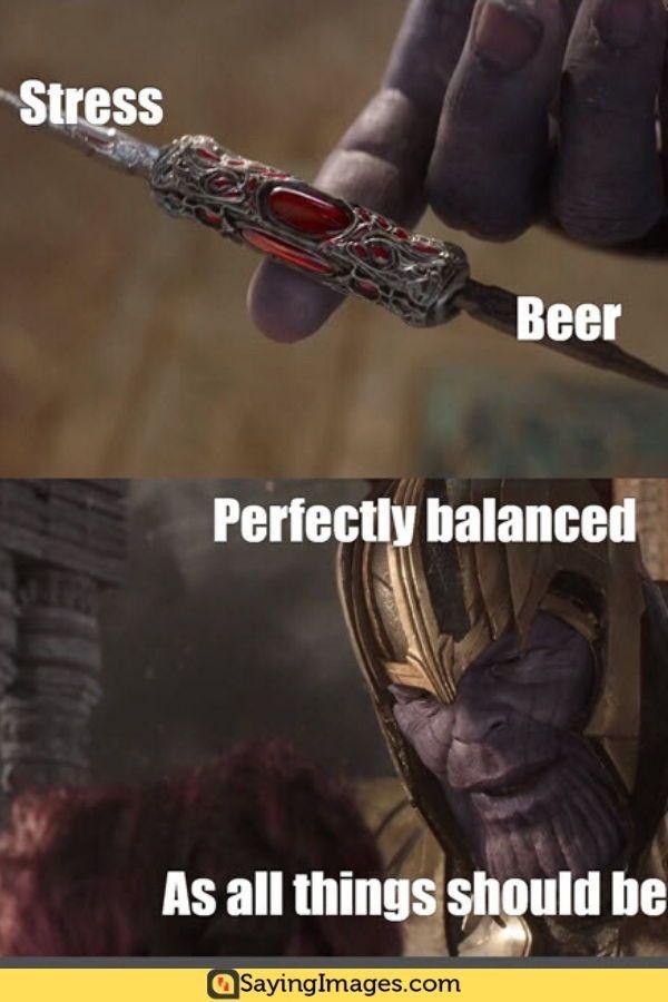 Thanos Balance Meme : thanos, balance, Perfectly, Balanced, Memes, Thanos, SayingImages.com, Memes,, Pinterest, Humor,, Funny