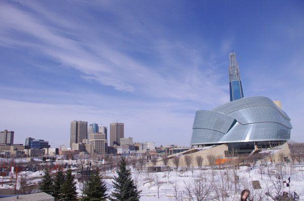 #GR8DAY in #Winnipeg #downtown @TheForks