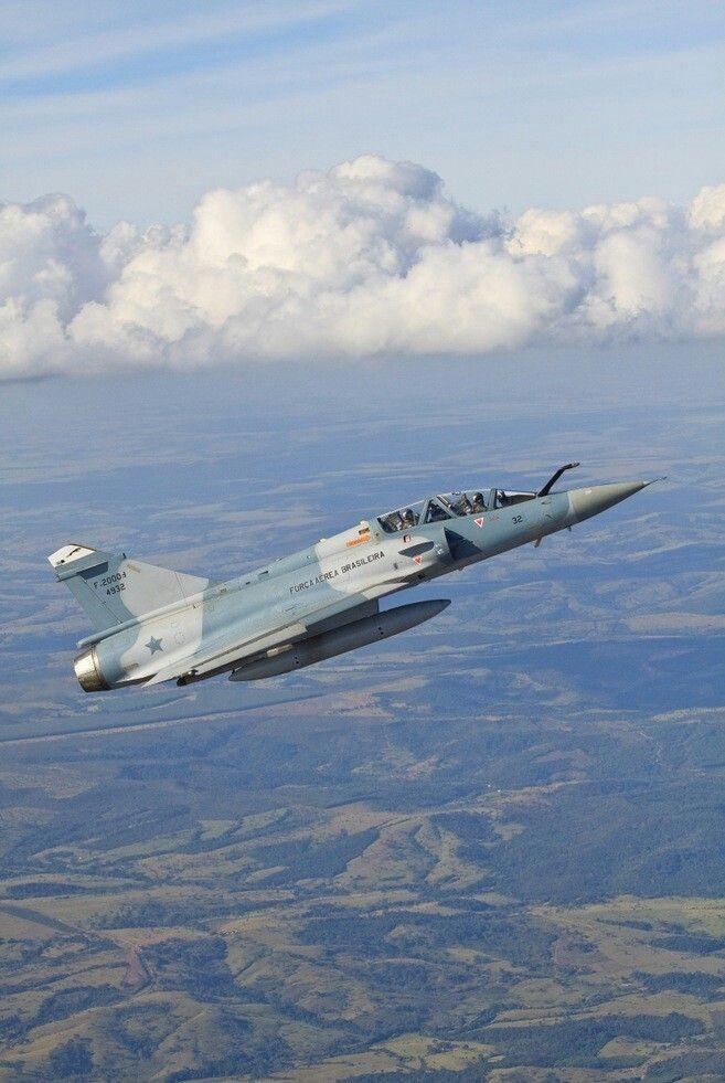 Brazilian Air Force Dassault Mirage 2000B (F-2000B)