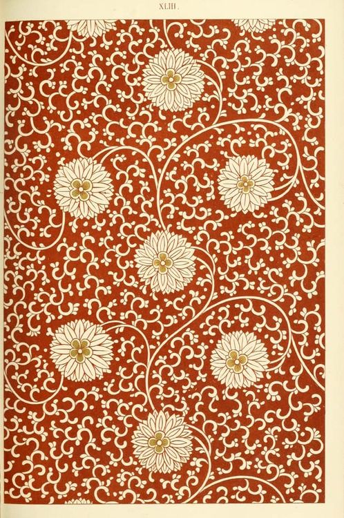 19th century Chinese pattern.