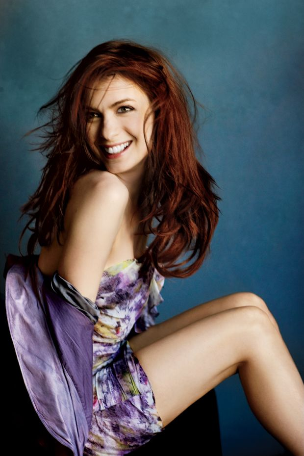 "Photo Issue 2010: ""The Guild"" Star Felicia Day in Red, White, and ..."