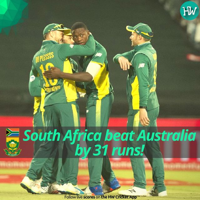 A magnificent 5-0 whitewash over Australia by South Africa. They dominated this series completely. #SAvAUS #SA #AUS #cricket