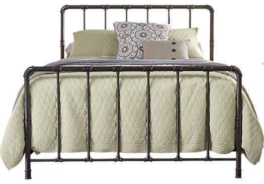 picture of Kady Charcoal Queen Bed  from Beds Furniture
