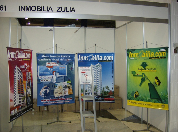STAND EXPO VIVIENDA HABITAT ZULIA JULIO 2009