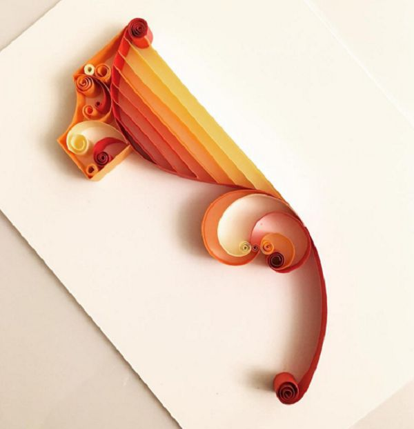 Quilling is a form of art you may not have heard of before that uses paper to create different forms and designs.