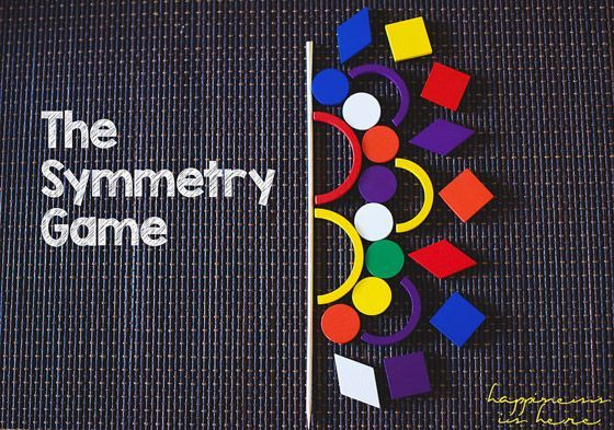 The Symmetry Game. A super fun way to learn about symmetry!