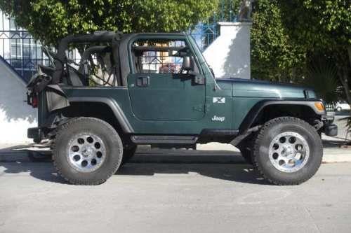 Jeep Wrangler Tj 2004 Levantado Rines 17 Y Llantas 33