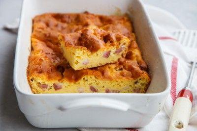 Cake jambon moutarde