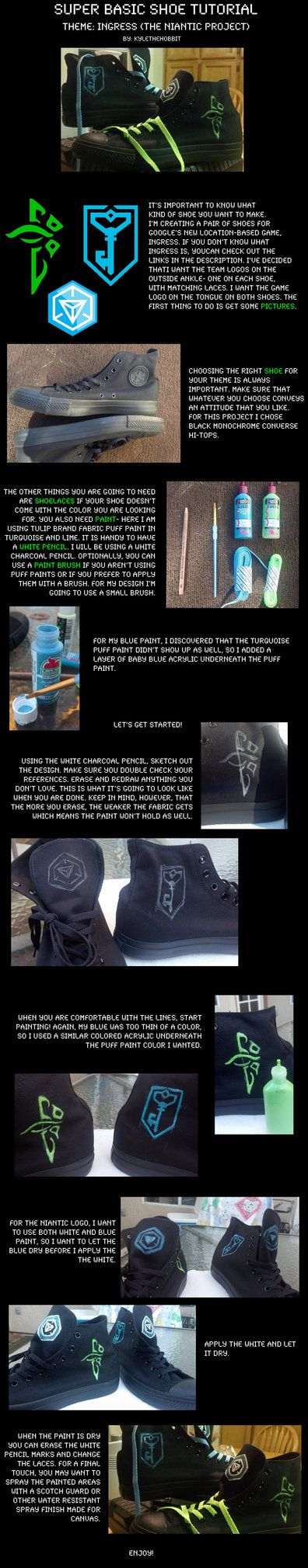 Ingress Shoe Tutorial by KyleTheHobbit on DeviantArt