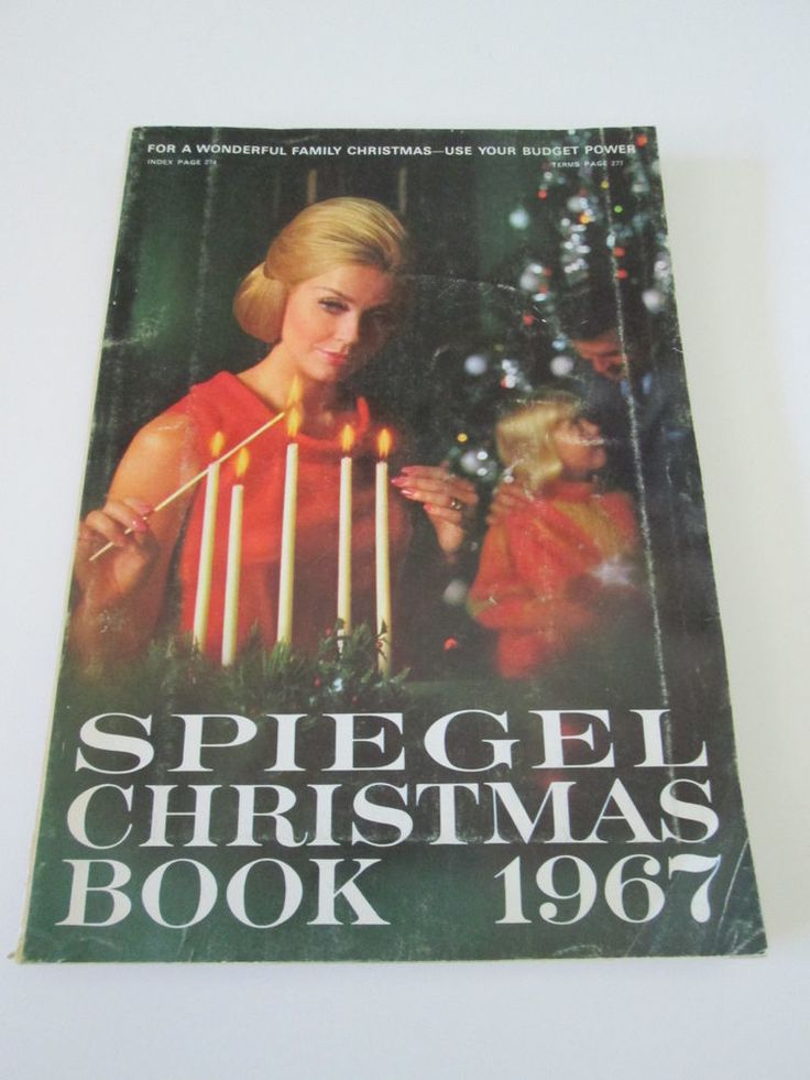 1967 spiegel christmas book catalog 427 pages vintage for Spiegel cover