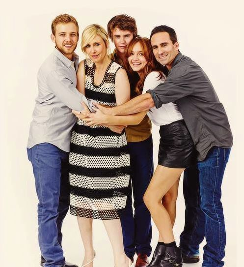 The most liked! Bates Motel. Dylan, Norma, Norman, Sheriff Alex, Emma.