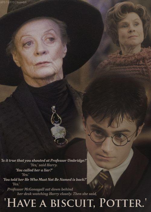 I <3 McGonagall #Harry Potter: Movies, Book, Professor Mcgonagal Quotes, Professor Mcgonagal Funny, Weasley Twin, I'M, Biscuits, Harry Potter Quotes, Minerva Mcgonagal Quotes