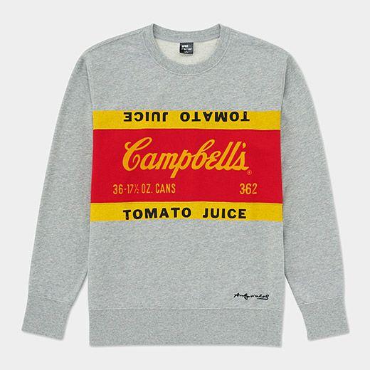 2eaba7b1e6cd2 UNIQLO Andy Warhol Campbell s Soup Sweatshirt