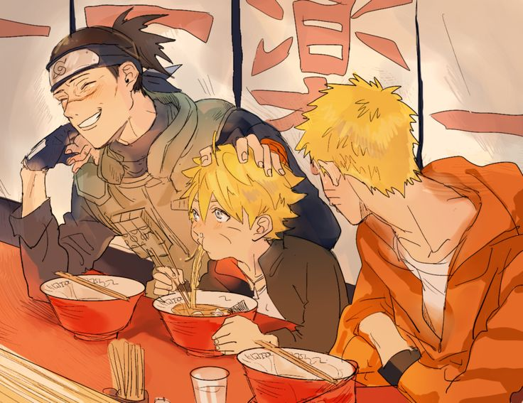 ;~; I'm crying at the memories and how bolt can now eat ramen with those two ;~;