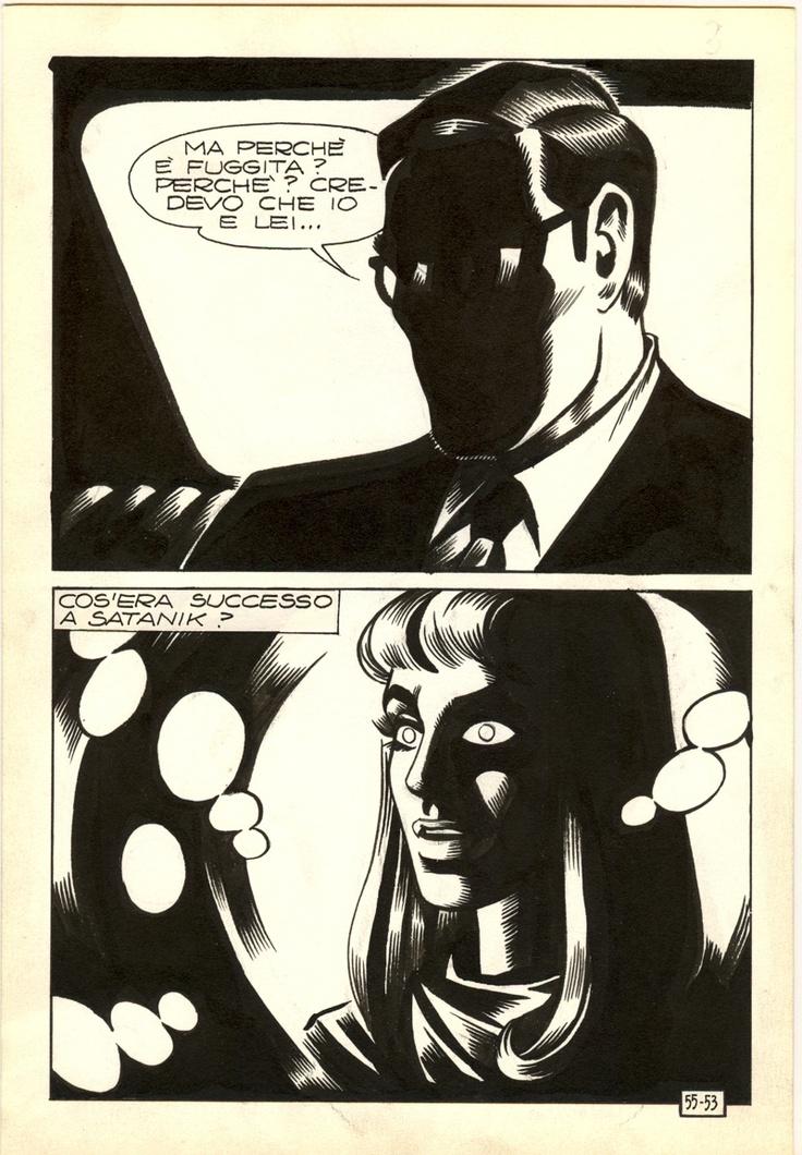 magnus (roberto raviola, 1939-1996) | Satanik