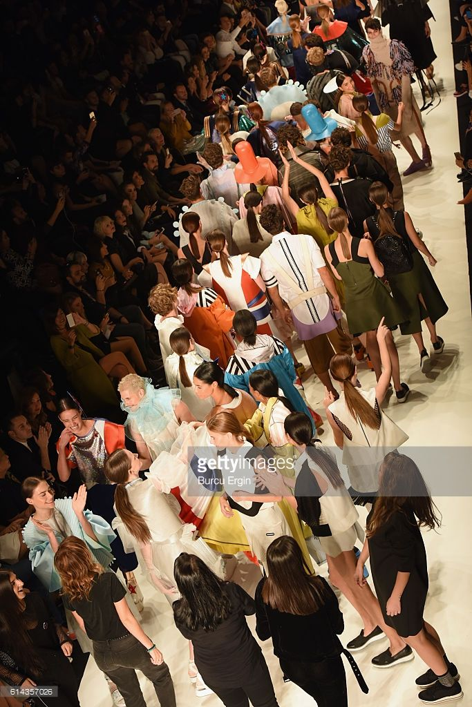 Models and designers walk the runway after the New Gen By Ima show... News Photo | Getty Images