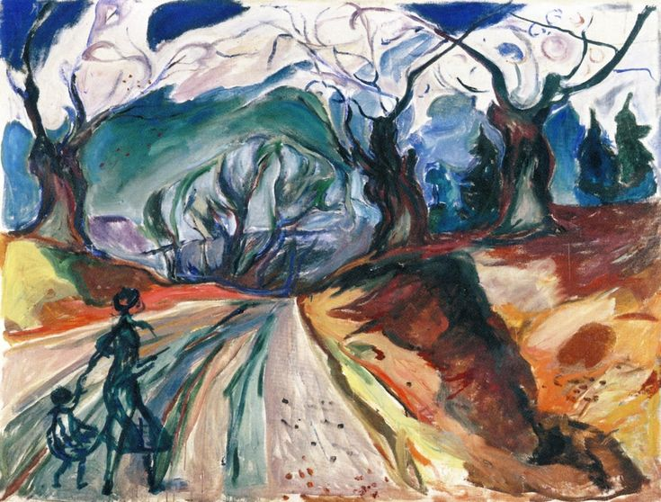 The Magic Forest , 1919 Edvard Munch