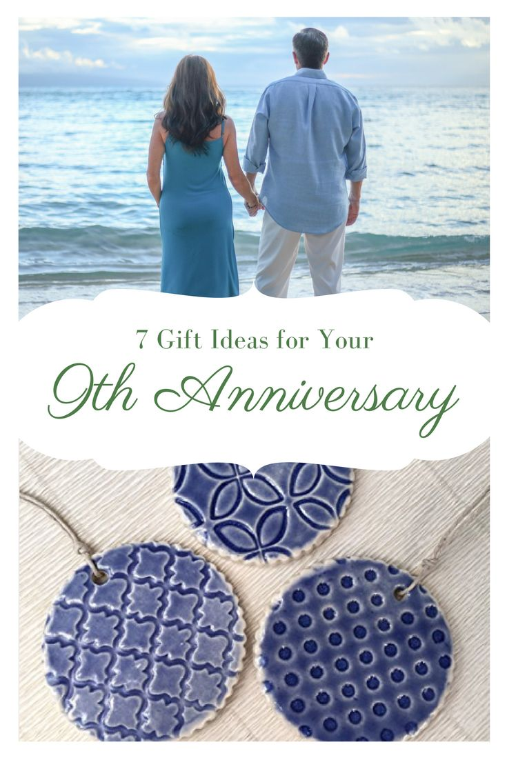 Find a great gift for your seventh anniversary for him or her