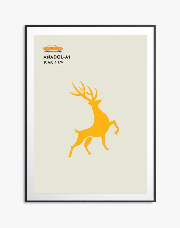 My works Anadol A1- 1966-1975