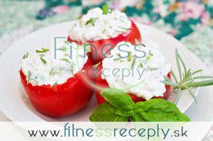 Zdravé fitness recepty - Plnené paradajky