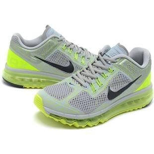 http://www.asneakers4u.com/ Cheap nike air max 2013 mens trainers grey green size40 46 Sale Price: $69.30