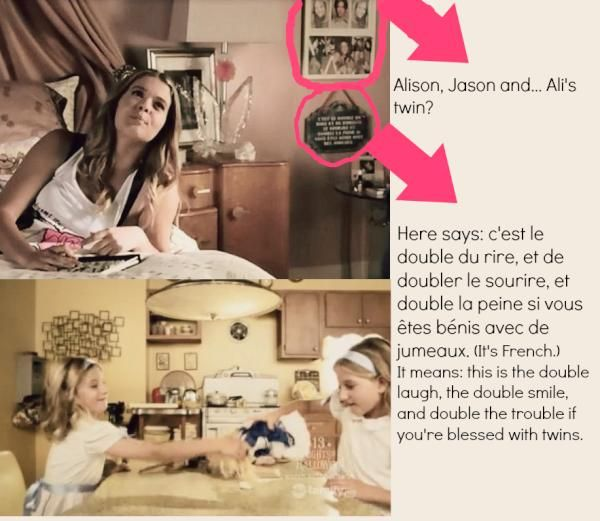 Alison DiLaurentis Room Clues | User blog:Zofiablair/Reasons why Alison DiLaurentis is alive: - Pretty ...