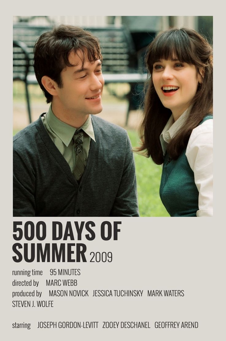 500 Days Of Summer Polaroid Poster 500 Days Of Summer Aesthetic Movies 500 Days