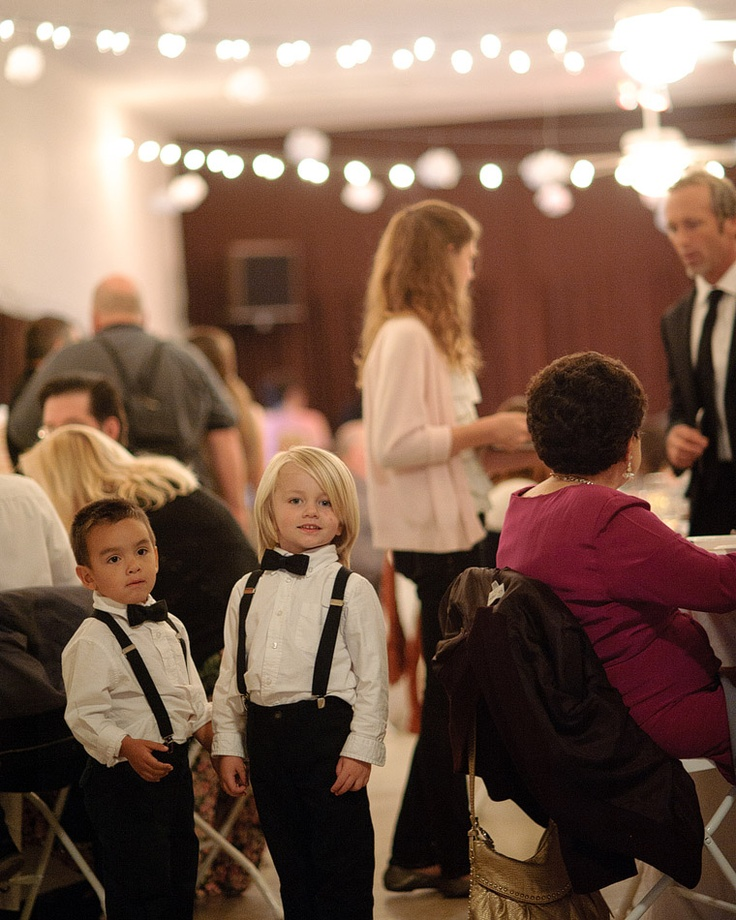 Little boys in suspenders are so cute!//And the blonde kid looks SO much like MY kid!