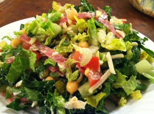 La Scala Beverly Hills -  recipe for the first and best classic chopped salad