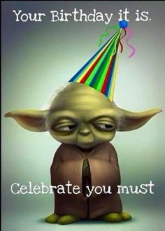 Afbeeldingsresultaat voor happy birthday middle age star wars